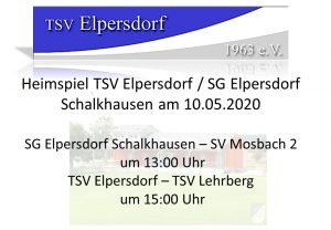 Heimspiel TSV Elpersdorf @ TSV Elpersdorf